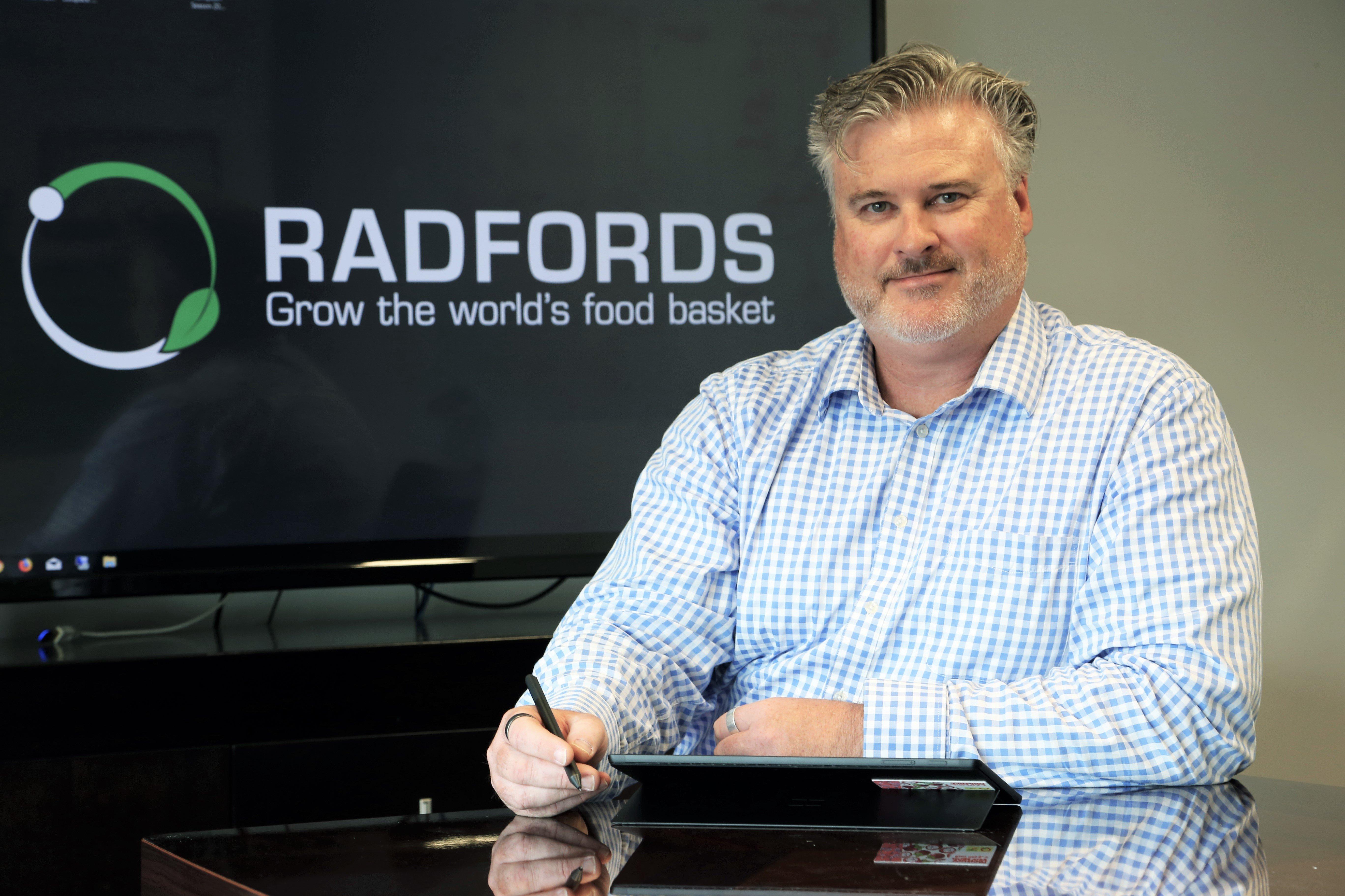 Adam Cuming CEO of Radfords